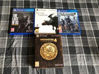Videojuegos PS4