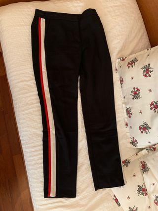 Pantalón traje raya lateral ZARA