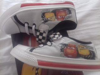 Zapatillas niño Disney Cars 28