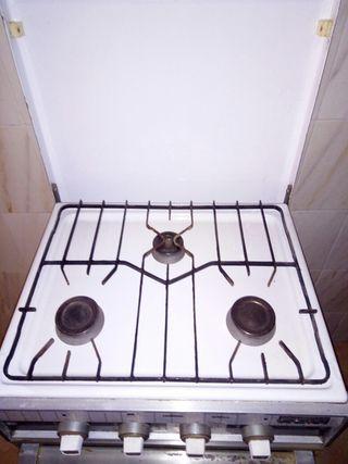 cocina con horno gas