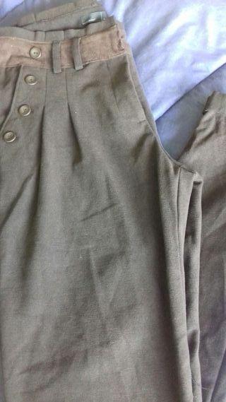 Pantalon marron chocolate talla 36