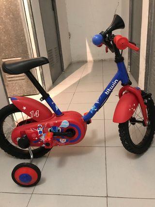 Bicicleta niño en buen estado