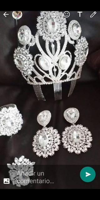 conjunto de peineta novia gitana