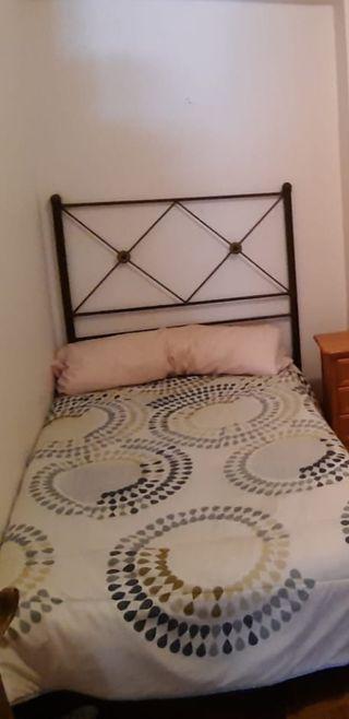 Cabecero de forja cama 90cm