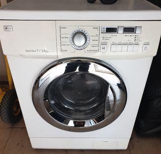lavadora secadora LG 7kg seca 3.5