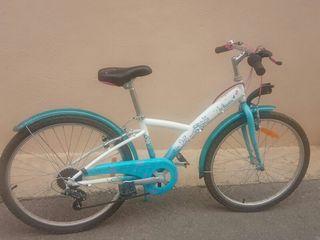 Bicicleta 24 pulgadas niña decathlon. Poco uso