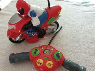 Moto control remoto