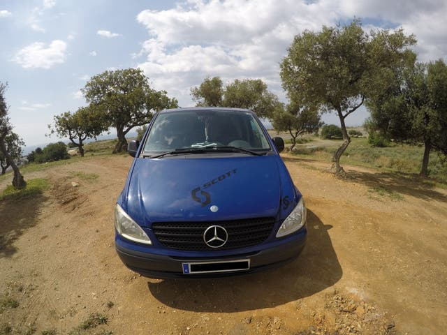 Mercedes-Benz Vito Camper.