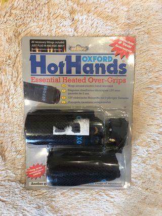 Calentador de manos para moto