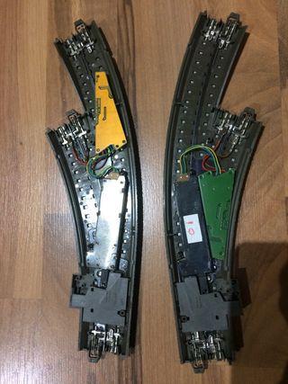 Marklin 24671 y 24672 con 74490 y 74460 digital