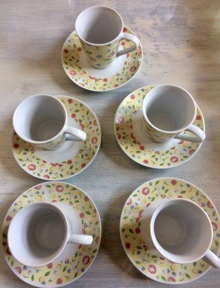 Juego tazas de café