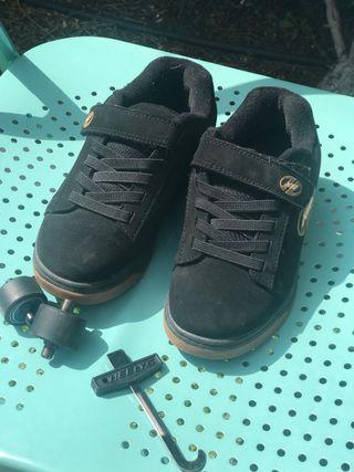 2 pares de Zapatillas con ruedas