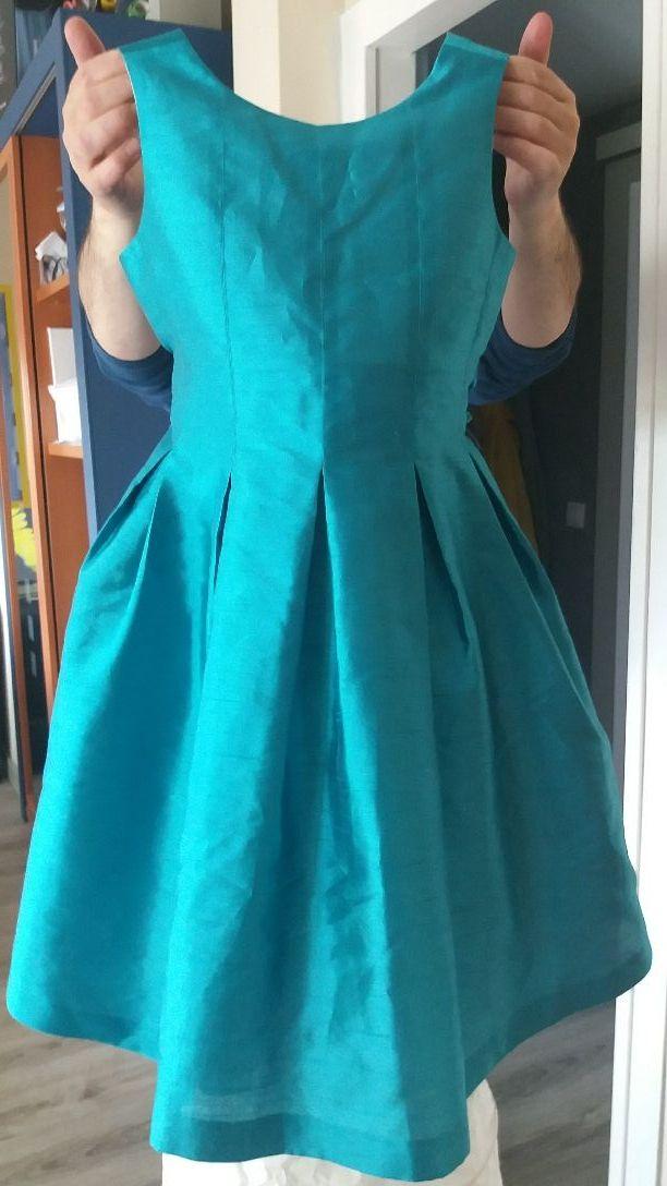 59295d168 Vestido fiesta niña talla 12 de Amaya Ceremonia. de segunda mano por ...