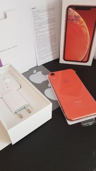 Iphone XR 64 gb coral nuevo oferta especial!!!
