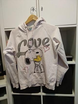 Sudadera Snoopy mujer
