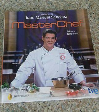 Libro cocina Masterchef