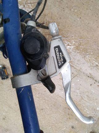 Despiece bici bh, cambio y manetas shimano v-brake