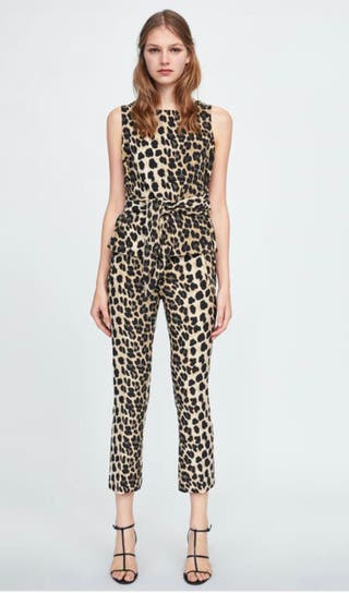 Conjunto Zara animal print
