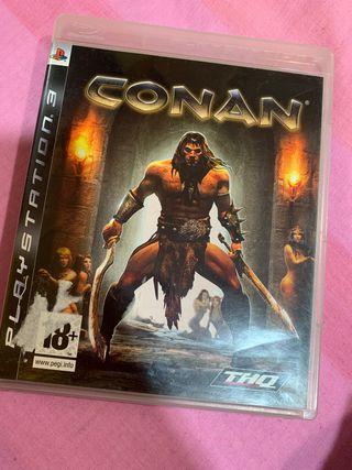 Juego De Conan para PS3