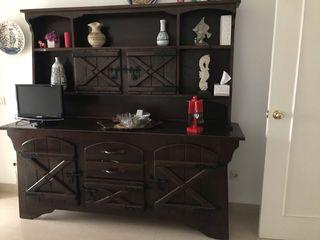 Mueble salon estilo castellano