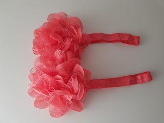 Cinta pelo niña..coral...NUEVA!!