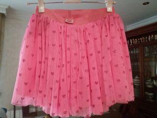 falda ñiña tuctuc talla 12 a 14