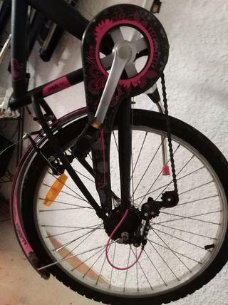 bicicleta de niñ@. 24 pulgadas