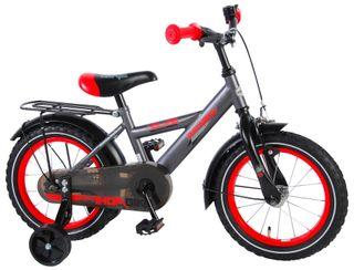 Bicicleta Volare Thombike gris/rojo 14 pulgadas