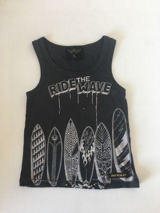 Camiseta surfera 2 años