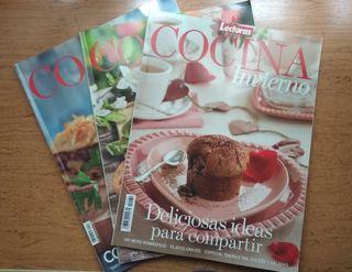 3 Revistas Cocina Lecturas