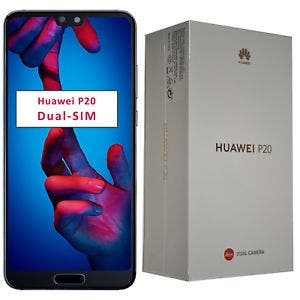 Huawei p20 128 gb color negro