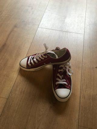 Zapatillas converse imitacion talla 41 chica/o
