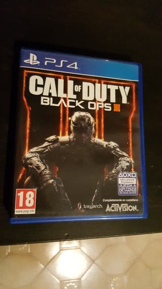 Videojuego call of duty black ops 3