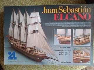 maqueta Juan Sebastián Elcano 1:250