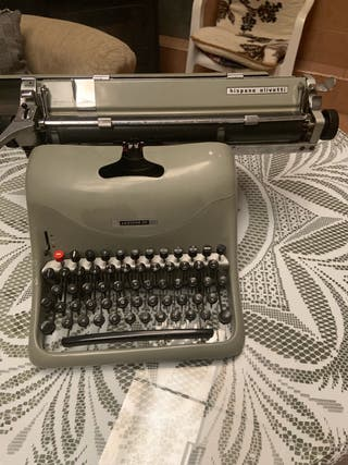 Maquina de escribir lexicon 80
