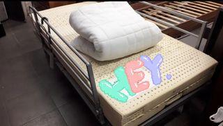 cama ariculada con colchón latex