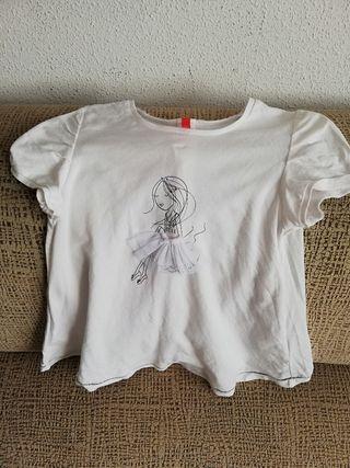 Camiseta manga corta niña t. 8 años