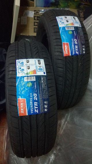 Neumáticos Nuevos a estrenar ZETA ZTR20 195 65 R15