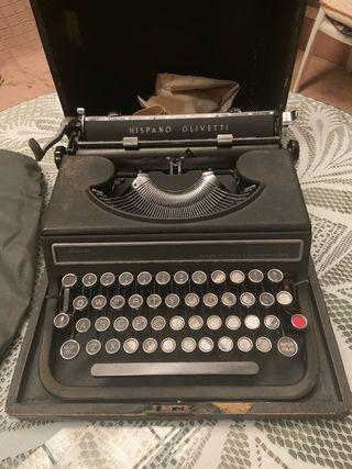 Maquina escribir hispano olivetti studio 46