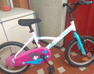 Bicicleta infantil 4/7 años decathlon