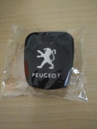 Funda llave silicona Peugeot
