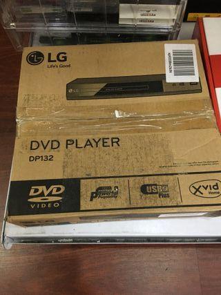 Repdorudcot DVD con entrada USB y RCA Negro