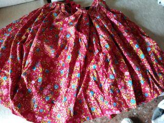 falda y delantal baturra