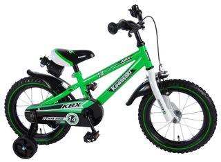 Bicicleta Kawasaki verde 14 pulgadas