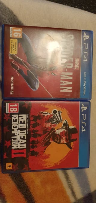 Marvel Spider-Man + Red Dead Redemption 2 PS4