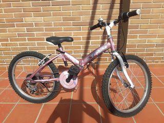 bicicleta infantil hasta 9 años