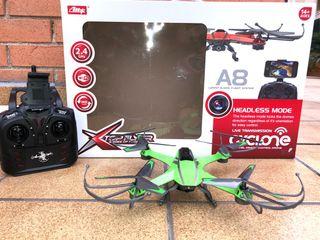 Dron cycloneA8 de acrobacias.
