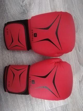 guantes de boxeo domyos 6 oz