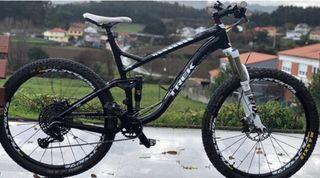 Bicicleta doble suspensión Trek 27,5 Sin tija 900