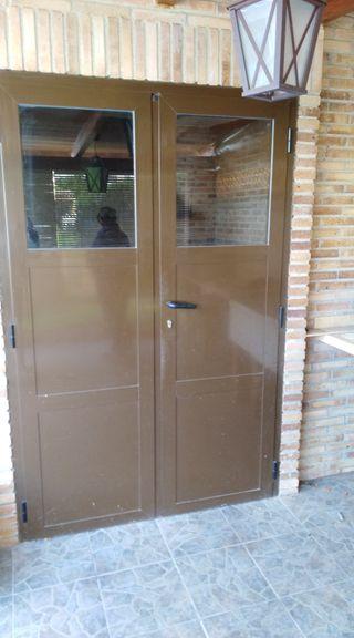 puerta aluminio